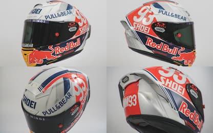 Marquez, casco vintage per il Sachsenring. FOTO