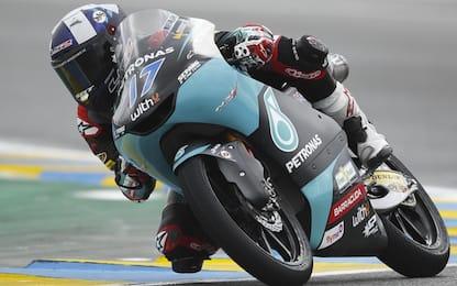 Libere Moto3: McPhee il più veloce, 6° Nepa