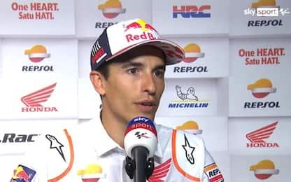 """Marquez: """"Qui sento meno limitazioni fisiche"""""""