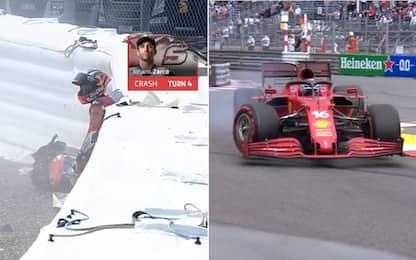 Zarco, pole e caduta: è successo anche in F1