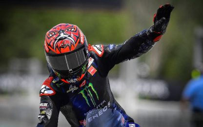 Quartararo resta leader, dietro di lui tre Ducati