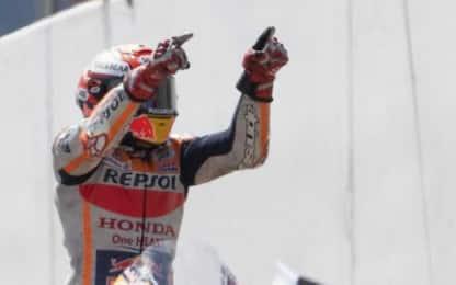 Marquez è tornato, vince in Germania. 5° Bagnaia