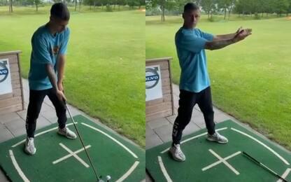 """Quartarato imita Khaby Lame: """"Il golf? E' facile"""""""