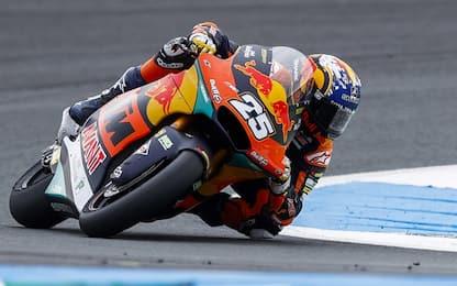 Moto2: pole di Raul Fernandez, 9° Dalla Porta
