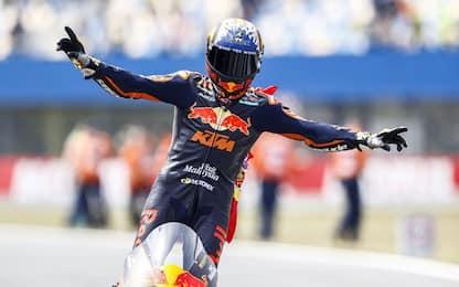 Moto2: successo di Raul Fernandez, 5° Bezzecchi
