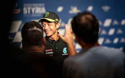 """Rossi: """"Pilota per sempre. Correrò in macchina"""""""