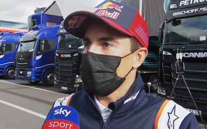 """Marquez: """"Rossi ci ha insegnato tanto"""""""