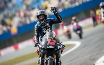 Moto2, vittoria di Bezzecchi (Sky VR46). Vietti 6°