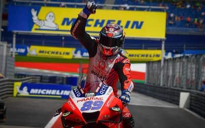 GP Stiria, trionfo della Ducati con Martin. 2° Mir