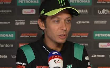 """Vinales-Yamaha, Rossi: """"Spero risolvano tutto"""""""