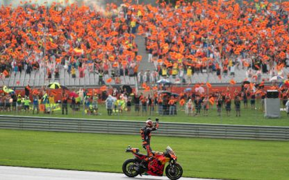 GP d'Austria show: folle, epico, ad alto rischio