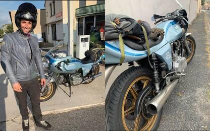 Zarco eroico: oltre 700 km su una Ducati del 1981