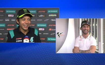 Rossi, Pasini e il siparietto sul GP Aragon 2017