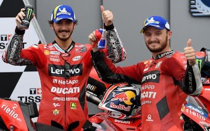 Misano, doppietta Ducati: pole Bagnaia, 2° Miller