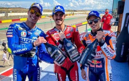 Bagnaia vince ad Aragon, primo successo in MotoGP