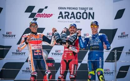 La 1^ di Bagnaia: 250° successo italiano in MotoGP