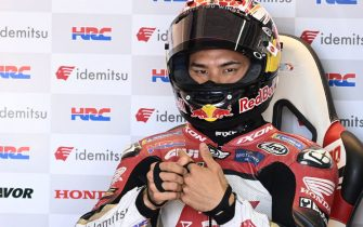 MOTORLAND ARAGON, SPAIN - SEPTEMBER 11: Takaaki Nakagami, Team LCR Honda during the Aragon GP at Motorland Aragon on Saturday September 11, 2021 in Alcaniz, Spain. (Photo by Gold and Goose / LAT Images)