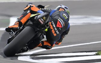SILVERSTONE CIRCUIT, UNITED KINGDOM - AUGUST 28: Luca Marini, Esponsorama Racing during the British GP at Silverstone Circuit on Saturday August 28, 2021 in Northamptonshire, United Kingdom. (Photo by Gold and Goose / LAT Images)