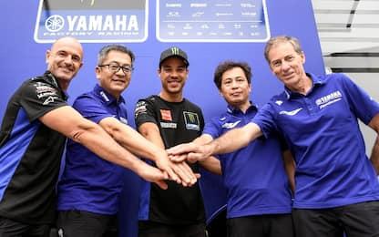 Morbidelli firma con Yamaha Factory fino al 2023