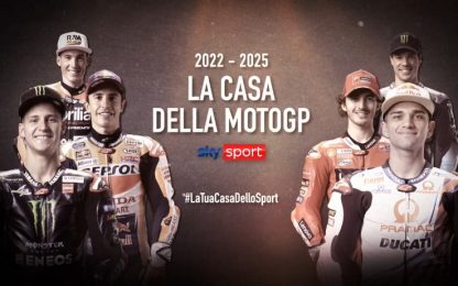 MotoGP e Superbike restano su Sky fino al 2025