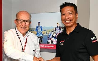 Razali in MotoGP con il suo team fino al 2026