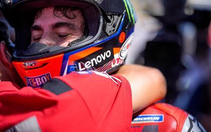 Bagnaia come Rossi, seconda pole di fila in MotoGP