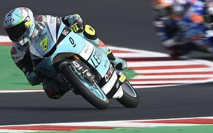 Moto3, è podio azzurro: Foggia, Antonelli e Migno!