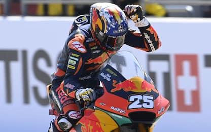 Moto2, vince Raul Fernandez. 5° Bezzecchi