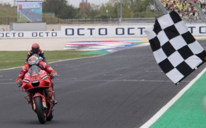 GP San Marino, ascolti al top per la MotoGP su Sky