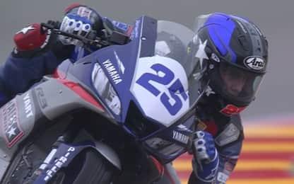 Addio, Dean: il tributo della Superbike
