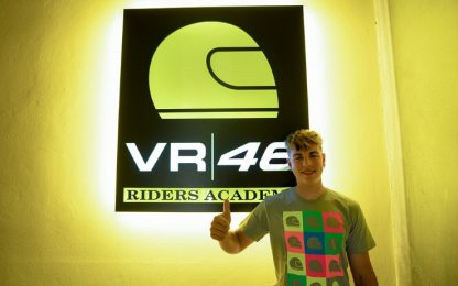 Alberto Surra entra nella VR46 Riders Academy