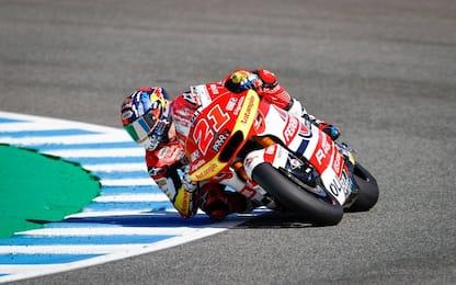 Moto2, Fernandez in pole. 3° Di Giannantonio
