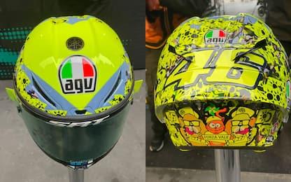 Rossi, nuovo casco dedicato al popolo giallo. FOTO