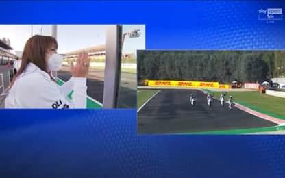 Misano, omaggio a Gresini. La gara di Moto3 LIVE