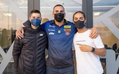 Moto3, Bartolini e Bertelle firmano con Avintia