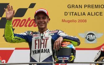 20080601-SCARPERIA   -GRAN PREMIO ITALIA  ALICE -MOTO GP     Valentino Rossi   ANSA CARLO FERRARO