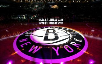 BROOKLYN, NY - JANUARY 2:  A general view of the arena before the game between the New Orleans Pelicans and Brooklyn Nets on January 2, 2019 at Barclays Center in Brooklyn, New York. NOTE TO USER: User expressly acknowledges and agrees that, by downloading and or using this Photograph, user is consenting to the terms and conditions of the Getty Images License Agreement. Mandatory Copyright Notice: Copyright 2019 NBAE (Photo by Nathaniel S. Butler/NBAE via Getty Images)