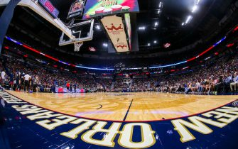 NEW ORLEANS, LA - OCTOBER 5: A general view of a practice on October 5, 2019 at the the Smoothie King Center in New Orleans, Louisiana. NOTE TO USER: User expressly acknowledges and agrees that, by downloading and or using this Photograph, user is consenting to the terms and conditions of the Getty Images License Agreement. Mandatory Copyright Notice: Copyright 2019 NBAE (Photo by Layne Murdoch Jr./NBAE via Getty Images)
