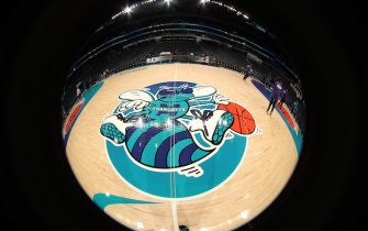 CHARLOTTE, NC - NOVEMBER 17: A general view of the Spectrum Center before the game between Charlotte Hornets and Philadelphia 76ers on November 17, 2018 at Spectrum Center in Charlotte, North Carolina. NOTE TO USER: User expressly acknowledges and agrees that, by downloading and or using this photograph, User is consenting to the terms and conditions of the Getty Images License Agreement.  Mandatory Copyright Notice:  Copyright 2018 NBAE (Photo by Kent Smith/NBAE via Getty Images)