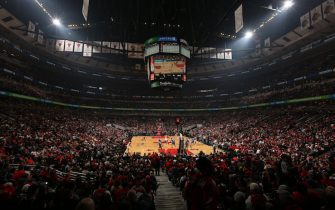CHICAGO, IL - NOVEMBER 1: A general overall view in the game between the Orlando Magic and the Chicago Bulls on November 1, 2015 at the United Center in Chicago, Illinois. NOTE TO USER: User expressly acknowledges and agrees that, by downloading and or using this Photograph, user is consenting to the terms and conditions of the Getty Images License Agreement. Mandatory Copyright Notice: Copyright 2015 NBAE (Photo by Jeffrey Phelps/NBAE via Getty Images)