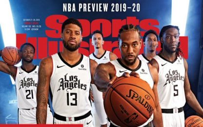 "Clippers, la nuova maglia su ""Sports Illustrated"""
