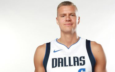 DALLAS, TEXAS - SEPTEMBER 30: Kristaps Porzingis #6 of the Dallas Mavericks poses for a portrait during the Dallas Mavericks Media Day at American Airlines Center on September 30, 2019 in Dallas, Texas. NOTE TO USER: User expressly acknowledges and agrees that, by downloading and/or using this photograph, user is consenting to the terms and conditions of the Getty Images License Agreement. (Photo by Tom Pennington/Getty Images)