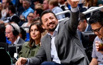 ORLANDO, FL - OCTOBER 30: Hedo Türkoğlu is seen during a game between the Sacramento Kings and the Orlando Magic on October 30, 2018 at Amway Center in Orlando, Florida. NOTE TO USER: User expressly acknowledges and agrees that, by downloading and/or using this Photograph, user is consenting to the terms and conditions of the Getty Images License Agreement. Mandatory Copyright Notice: Copyright 2018 NBAE (Photo by Fernando Medina/NBAE via Getty Images)