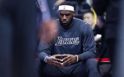 "LeBron James twitta ma poi cancella: ""Basta odio"""