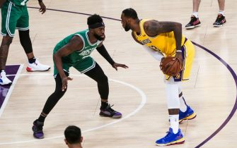 LeBron James contro Jaylen Brown