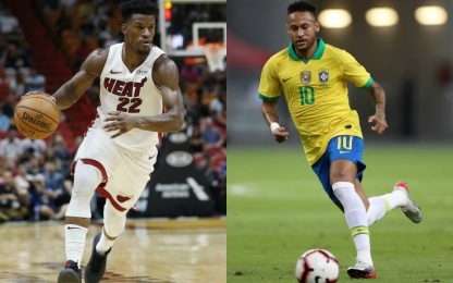 "Jimmy Butler: ""Grazie Dio per averci dato Neymar"""