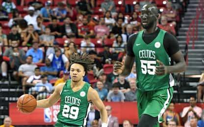 La NBA prende le misure: Durant più alto, Zion no