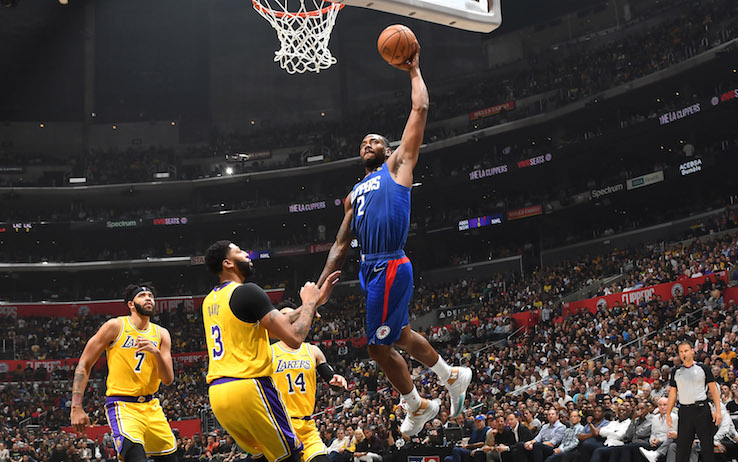 NBA, LA Clippers-Los Angeles Lakers 112-102: Leonard 30, il primo ...