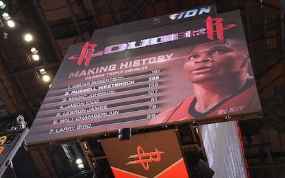 Westbrook, 139^ tripla doppia: superato Magic
