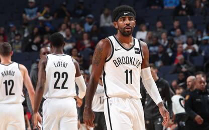 I cambi di umore di Kyrie Irving spaventano i Nets